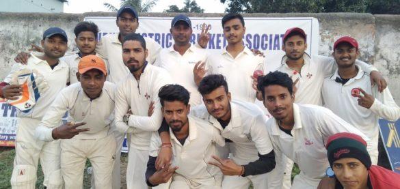 District cricket league match in purnia