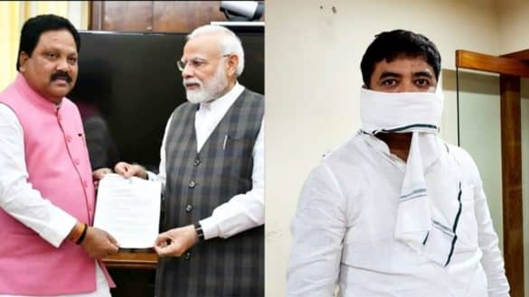 Araria MP Pradeep Singh and Purnia MP Santosh Kushwaha
