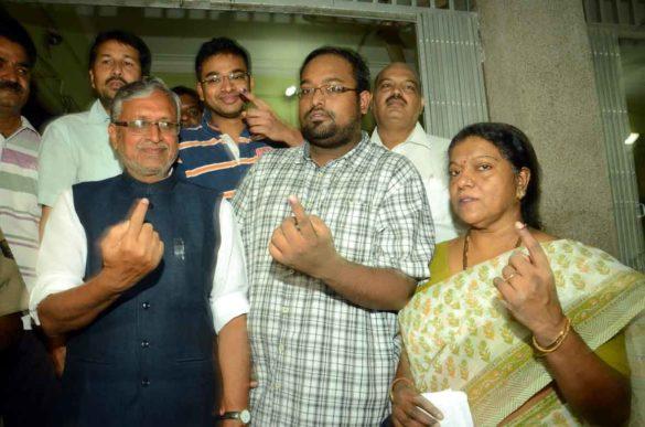 RJD Sushil Modi Wife Jessie George