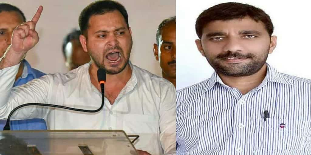 JDU विधायक की गिरफ्तारी की मांग कर रहे तेजस्वी यादव पर FIR दर्ज, तेजस्वी ने कहा- नीतीश कुमार हमें डरा नहीं सकते