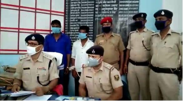 Araria Bihar Liquor Seized Two arrested