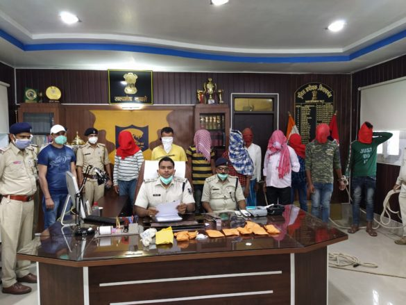 Kishanganj: 9 arrested for robbery of farmer