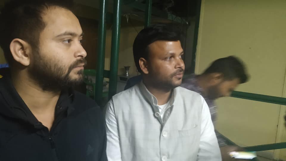When will Tejashwi speak for the young Muslim RJD leader Meeran who has been in jail for 4 months?