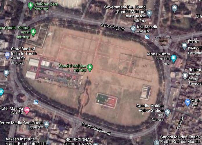पटना का ऐतिहासिक गाँधी मैदान जिसे एक मुख्यमंत्री ने रखा था गिरवी