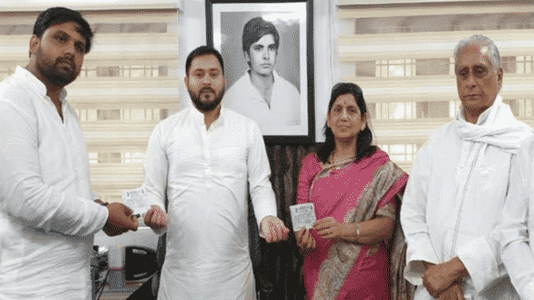anand mohan son chetan mohan gets rjd ticket for sheohar vidhan sabha