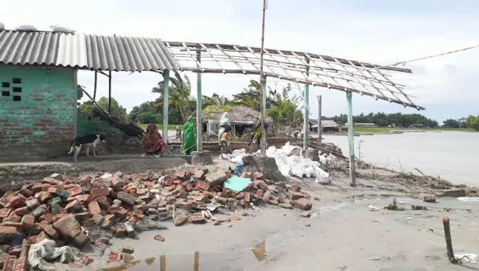 kosi river wrecks havoc in mahishi saharsa