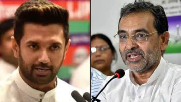 chirag paswan should not show oneway love to bjp says upendra kushwaha