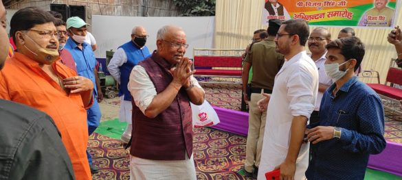 Bihar Deputy CM Tarkishore Prasad Age