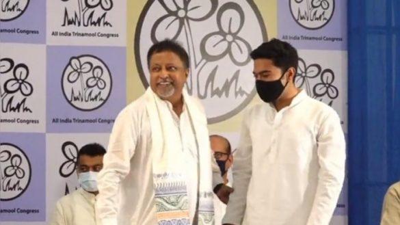 Mukul Roy TMC BJP